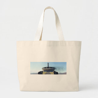 Broken Buzludzha Large Tote Bag