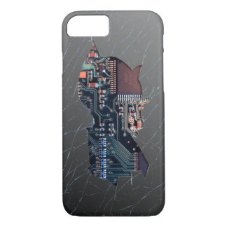 Broken Electronics iPhone 7 Case