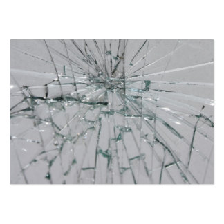 Broken Glass Background Business Card Templates