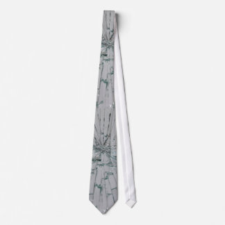 Broken Glass Background Tie