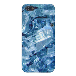 Broken glass blues cover for iPhone 5/5S