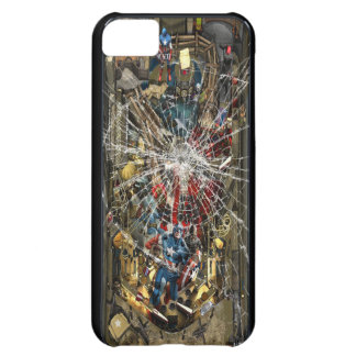 Broken Glass - Pinball Machine iPhone 5C Case