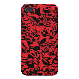 broken glass R B iPhone 4/4S Cover