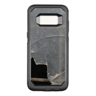 Broken Glass With Metal Bars OtterBox Commuter Samsung Galaxy S8 Case
