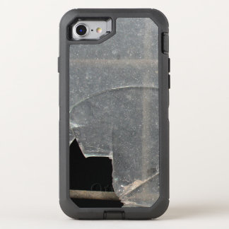 Broken Glass With Metal Bars OtterBox Defender iPhone 7 Case