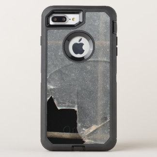 Broken Glass With Metal Bars OtterBox Defender iPhone 7 Plus Case