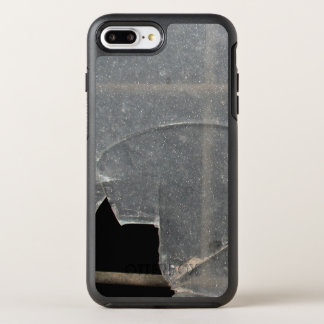 Broken Glass With Metal Bars OtterBox Symmetry iPhone 7 Plus Case