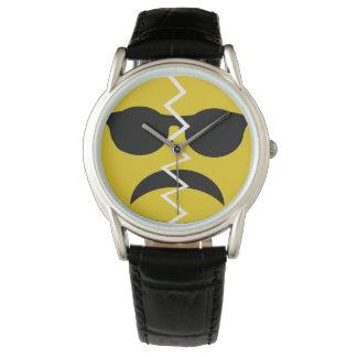 Broken Happy Face Wristwatch