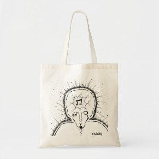 Broken Head Budget Tote Bag