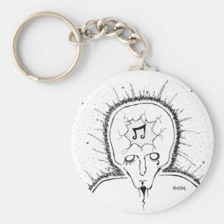 Broken Head Keychain