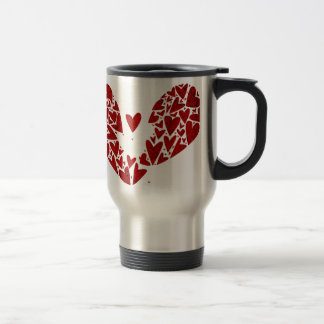 Broken Heart Attack Travel Mug
