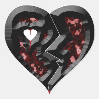 Broken Heart Heart Sticker