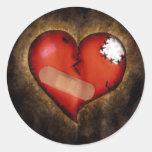 Broken Heart/Mending Heart-sticker
