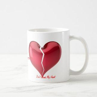 Broken Heart Basic White Mug