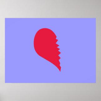 Broken Heart Print