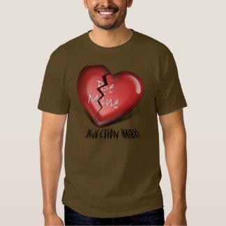 broken heart rejection tshirt