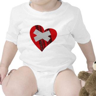 BROKEN HEART ROMPER
