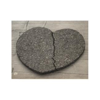 Broken Heart Wood Poster