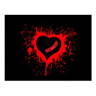 Broken Hearted again Postcard