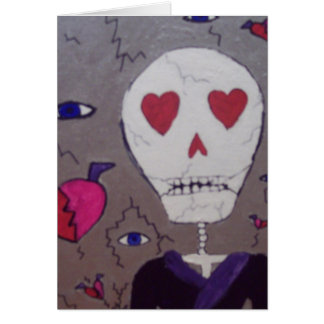 Broken hearts and Grimm Greeting Card