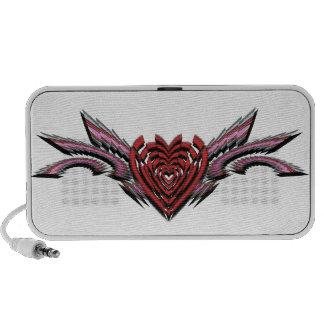 Broken Hearts Broken Wings Transparent Alternate Speaker System