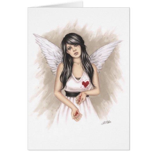 Broken Hearts Greeting Card