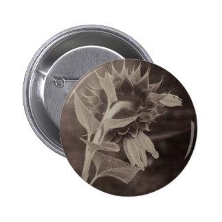 Broken is Beautiful (Sepia) 6 Cm Round Badge