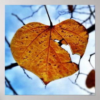 Broken Leaf, Broken Heart Poster