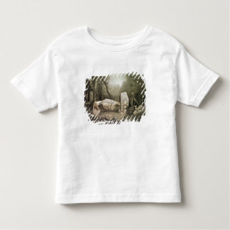 Broken Mayan idol at Copan, Guatemala Toddler T-Shirt