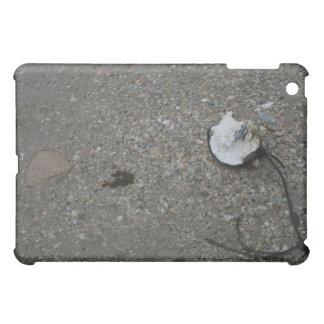 Broken net float on beach cover for the iPad mini