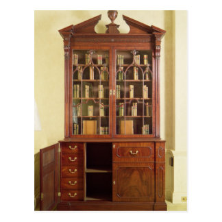 Broken pedimented bureau bookcase post cards
