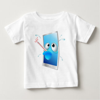 Broken phone cartoon baby T-Shirt