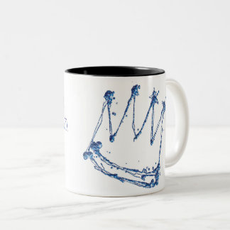 Broken Prince with quote Two-Tone Coffee Mug