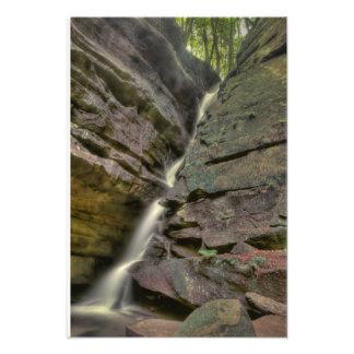 Broken Rock Falls Old Man s Cave Hocking Hills Art Photo