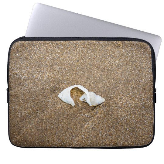 Broken shell laptop sleeve