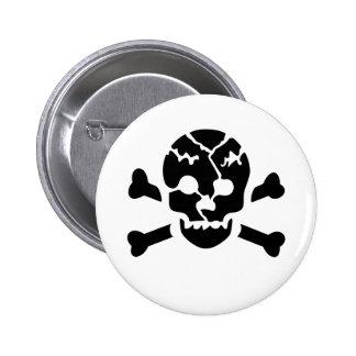 Broken Skull Pins