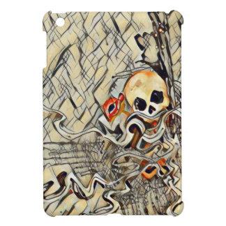 Broken skull cover for the iPad mini