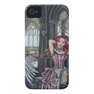 broken steampunk fairy art iPhone 4 case