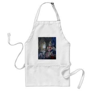 broken steampunk fairy art standard apron