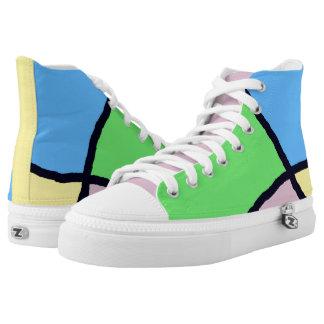 Broken Tile Brights shoes