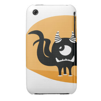 Broken Tooth Monster Cover iPhone 3 Covers