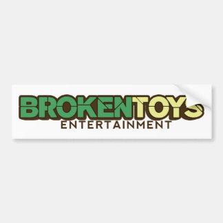 Broken Toys bumper sticker