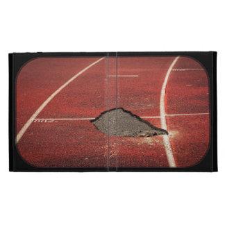 Broken track iPad cases