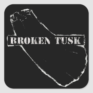 Broken Tusk Sticker