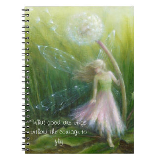 Broken Wing notebook by Lynne Bellchamber