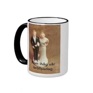 Bröllopspar old fashion mugg