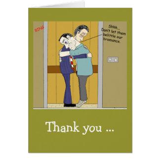 Bromance Card