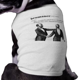 BROMANCE PET T SHIRT