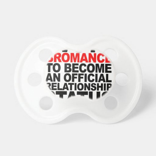 Bromance Relationship (2c) T-Shirts.png Pacifier