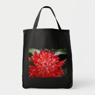 Bromeliad Flower Grocery Bag